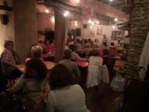 Une belle soirée à l'AntiSeiche avec un public chaleureux.
