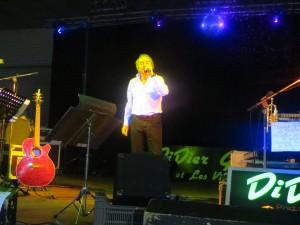 Philippe POIRIER chante au profit du TELETHON le 6.12.2014