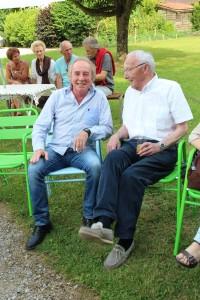 Avec Guy THOMAS avant le concert.