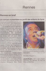 Article Ouest-France 19.06.2019
